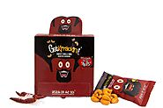 Getkrrackin Sweet Chilli BBQ Roasted Cashews, 20 Gm (Pack of 14): Amazon.in: Grocery & Gourmet Foods