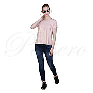 Passero Short Flared Top | Casual Top For Women