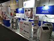 Spectrum stand at beauty expo australia.