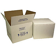 Thermal Shield Insulated Styrofoam shipping boxed | GBE Packaging