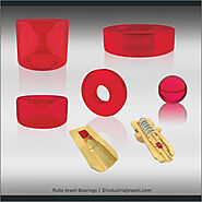 Ruby Jewel Bearing for industrial applications - Industrial Jewels
