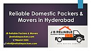 Top Domestic Packers and Movers in Hyderabad