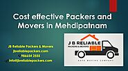 Looking for Packers and Movers in Mehdipatnam?