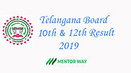 Telangana Class 10th and 12th Result 2019 - MentorWay