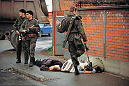 "Sarah Strang on Twitter: ""Taken in 1992, before the start of the Bosnian War, ""Bosnia"" by Ron Haviv depicts a Serb ki..."