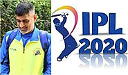 Check Out How IPL used CSK Skipper MS Dhoni's Photo to Spread Coronavirus Awareness