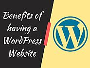 Few Benefits Of Having A WordPress Site For Your Business