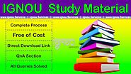 IGNOU Study Material Books by ignou.Services