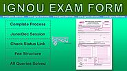 How To Submit IGNOU Exam Form - By www.Ignou.Services