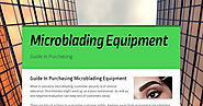 Guide In Purchasing Microblading Equipment