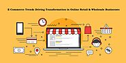 eCommerce Trends Driving Transformation in Online Retail & Wholesale Businesses - AppMomos
