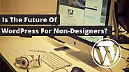 Is The Future of WordPress For Non-Designers?