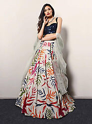 Ethnic Plus Blog | News, Ideas on Buying Indian Traditional Clothes - 7 Best Floral Lehenga Design for This Summer We...