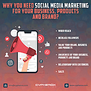 Why you need a Social Media Marketing for your Business, Products and Brands?