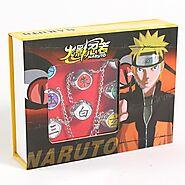 Anime NARUTO Rings | Shop For Gamers