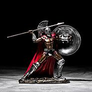 Europe Vintage Home Decor Spartan Action Figure | Shop For Gamers
