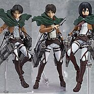 Anime Attack on Titan Mikasa Ackerman Action Figure | Shop For Gamers