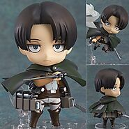 Attack on Titan Legion Levi Rivaille Action Figure | Shop For Gamers