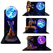 Dragon Ball Characters LED Lamp | Shop For Gamers