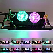 Dragon Ball Z Cell Gohan 3D Lamp | Shop For Gamers