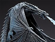 Game of Thrones Ice Dragon Action Figure | Shop For Gamers