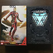 Iron Man Arc Reactor LED Light Figure | Shop For Gamers