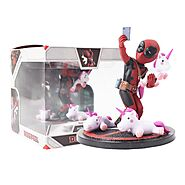 Deadpool Funny Unicorn Selfie Action Figure | Shop For Gamers
