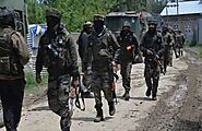 Commander Hizbul Mujahideen Pledged with Security Forces