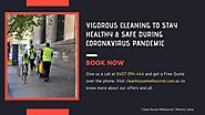 Vigorous Cleaning to Stay Healthy & Safe During Coronavirus Pandemic