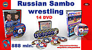 Russian Sambo -14 dvd collection. 888 min.