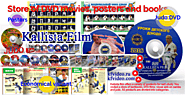 Store of DVD movies, posters and books. by Kallistafilm Pavlov on Genially