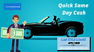 Car Title Loans Oakville With Best Interest Rates