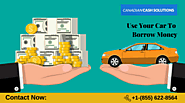 Fix Money Problem With Car Title Loans Brampton