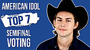 Vote Dillon James American Idol Top 7 Voting Semifinal Episode 10 May 2020