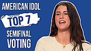 Vote Julia Gargano American Idol Top 7 Voting Semifinal Episode 10 May 2020