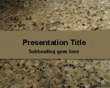 Granite Stone PowerPoint Template | Free Powerpoint Templates