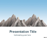 Mountains PowerPoint Template | Free Powerpoint Templates