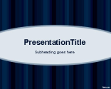 Basic Blue PowerPoint Template | Free Powerpoint Templates