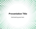 Circular Dots PowerPoint Template | Free Powerpoint Templates