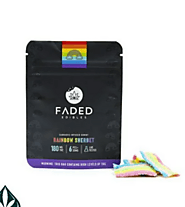 RAINBOW SHERBET 180MG THC BY FADED EDIBLES