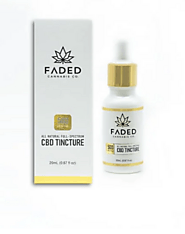 FADED CANNABIS CO. 500mg CBD TINCTURE