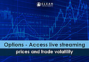 Options - Access live streaming prices and trade volatility