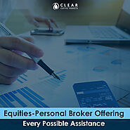 Equities – Personal Broker Offering Every Possible Assistance