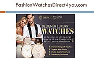 Fashionwatchesdirect4you Designer Watches cs@fashionwatchesdirect4you.com ! 800-371-1565 ! 50 W Broadway Ste 333 #694...