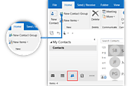 How to Create a Group in Outlook 2016 Application?