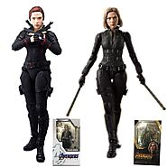 2 Styles Avengers Black Widow Action Figure | Shop For Gamers