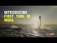 Jetlev flyer in Goa - Latest Adventure Activity | First time in India