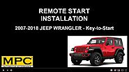 Jeep Wrangler 2007-2018 Key-to-Start - Plug-n-Play