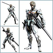 Metal Gear Rising Raiden Action Figure | Shop For Gamers
