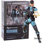 Metal Gear Solid 2: Sons of Liberty Action Figure | Shop For Gamers
